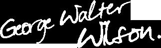 George Walter Wilson signature