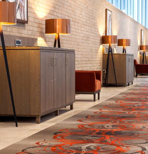 Clayton Chiswick corridor carpet