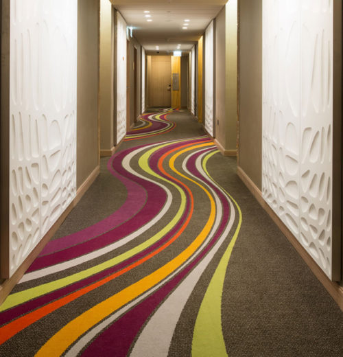 Corridor carpet Sofitel Dubai Downtown