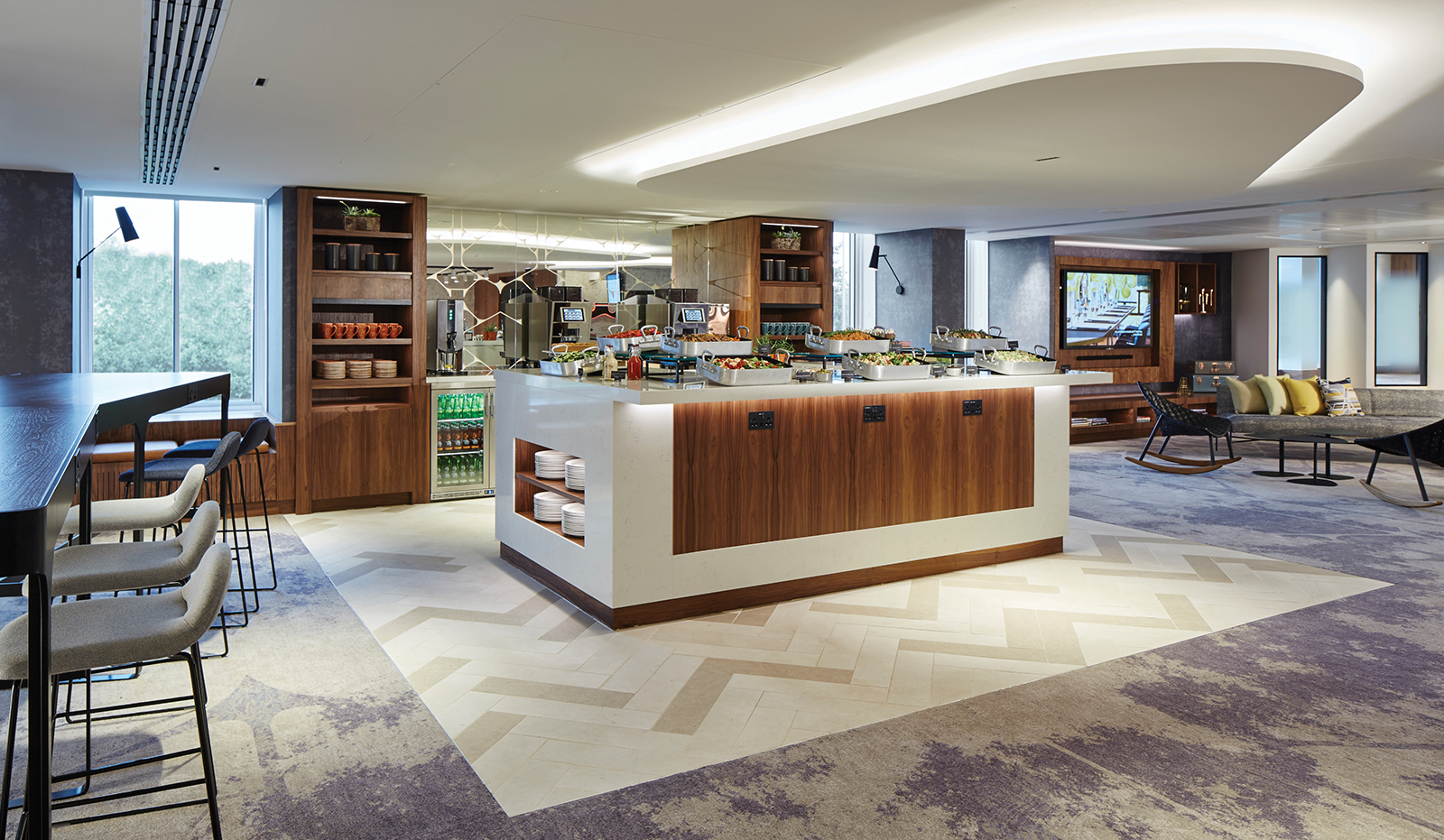 London Heathrow Marriott Hotel Ulster Carpets