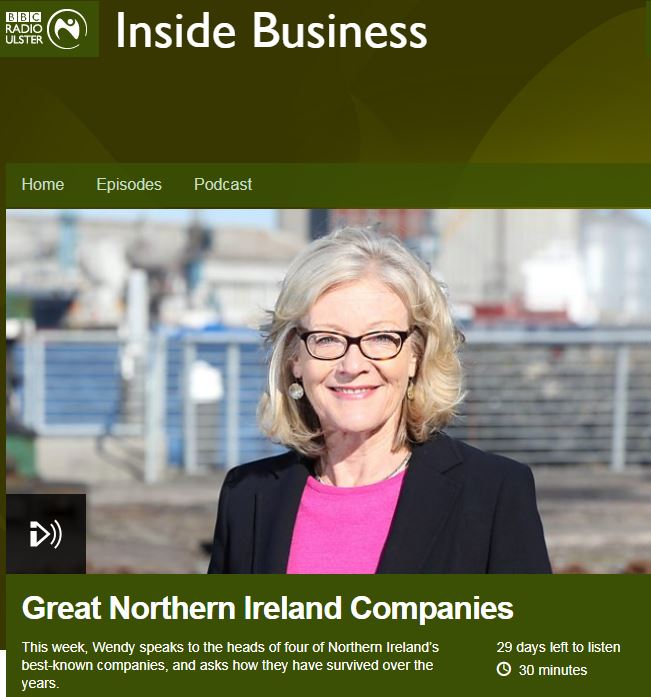 Wendy Austin chats to a host of Great Northern Ireland Companies including Ulster Carpets to discuss their progress over the years.