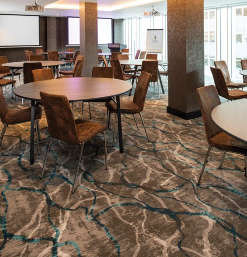 Meeting room carpet, Grand Central Hotel, Belfast - Parrott Photography