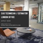 APPLY NOW – LONDON BASED CAD TECHNICIAN / ESTIMATOR