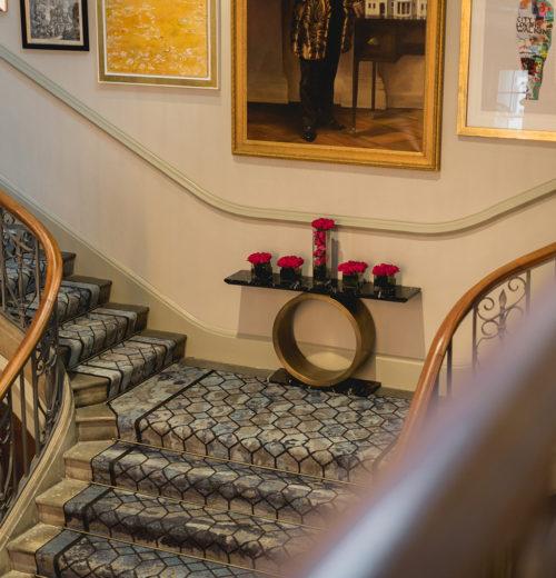 The Dixon Hotel - Reception staircase