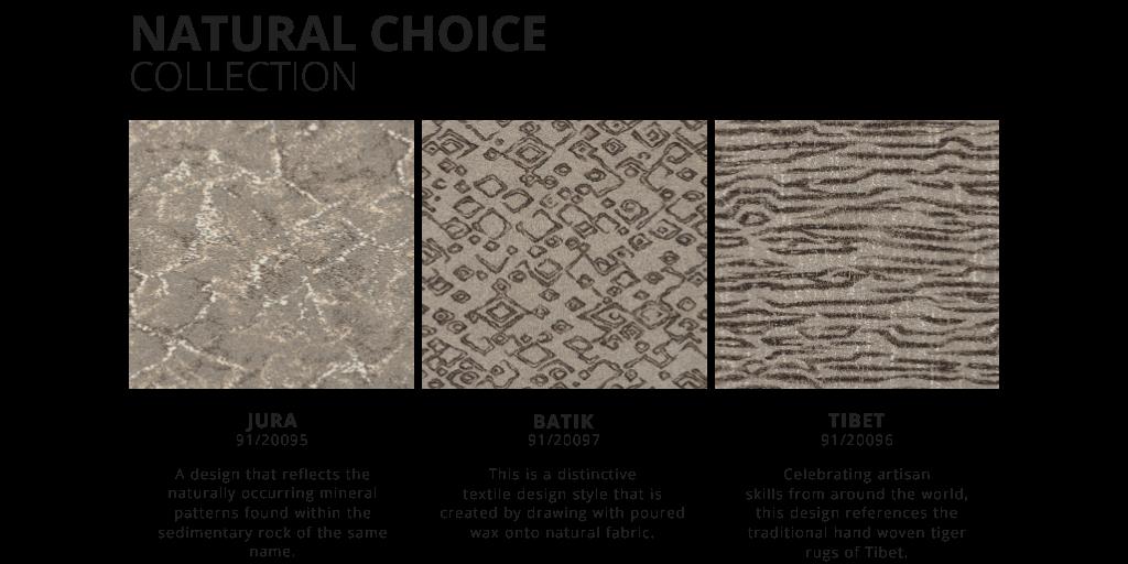 Natural Choice collection. Jura. Batik. Tibet