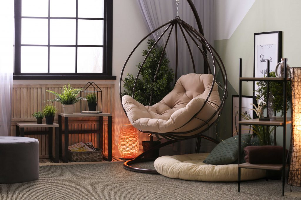 Habitus croft gable. Danish design. Ulster Carpets.
